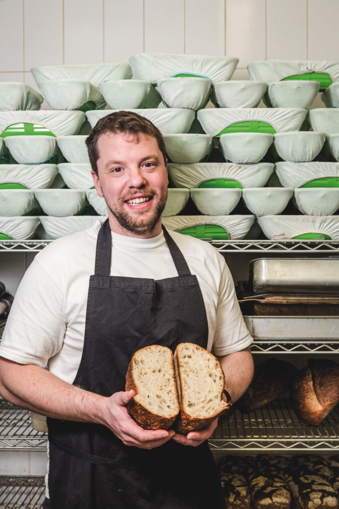 Sam Henley of Liverpool's Baltic Bakehouse (Photo: Rebecca Lupton)