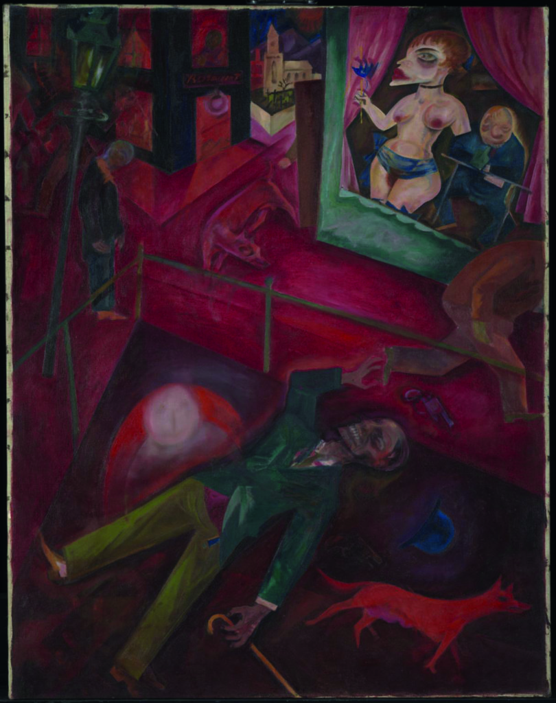 Suicide 1916 George Grosz 1893-1959 Purchased with assistance from the Art Fund 1976 http://www.tate.org.uk/art/work/T02053