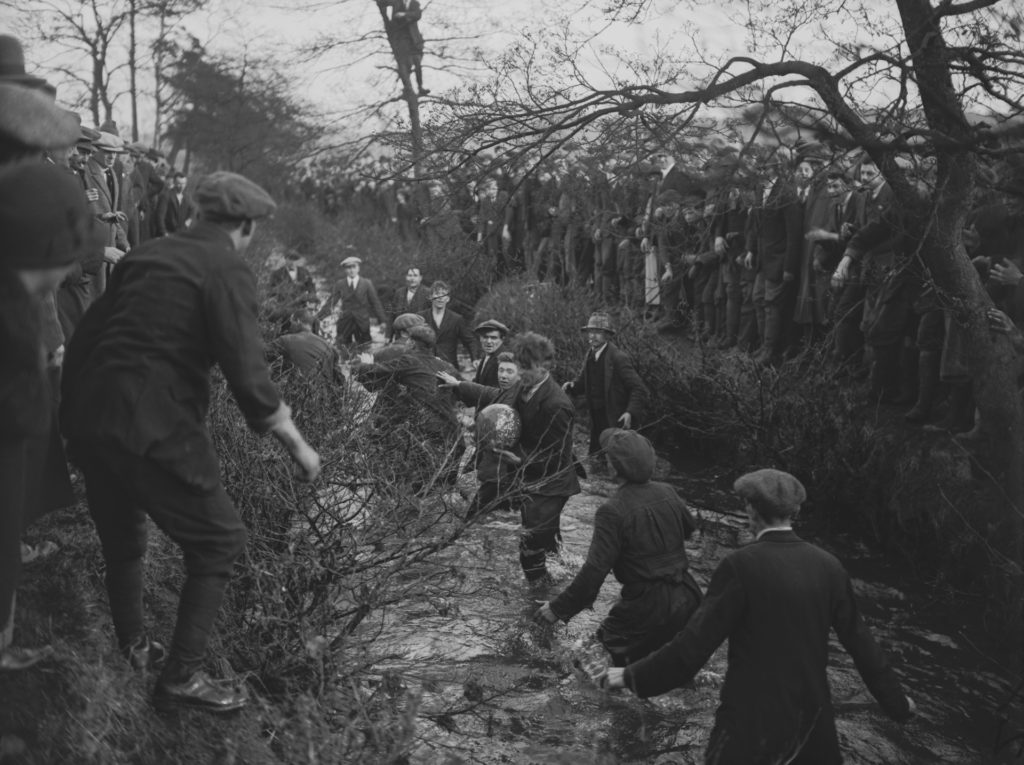 Ashbourne Shrovetide match