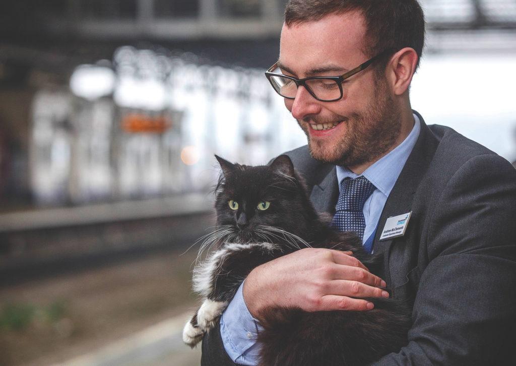 Felix Railway Cat