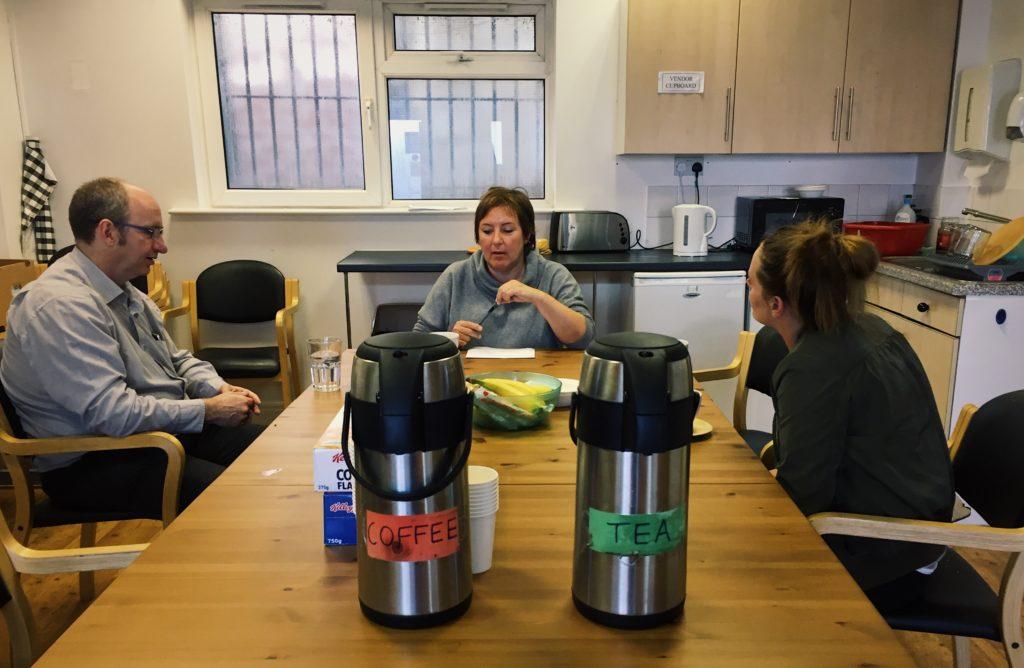 Joanna Office Visit Leeds Dean Stacey