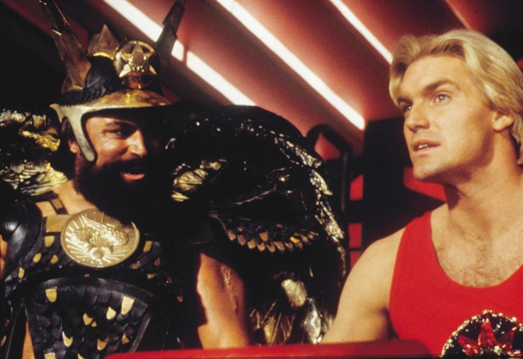 Blessed as Prince Vultan in 1980s cult classic Flash Gordon