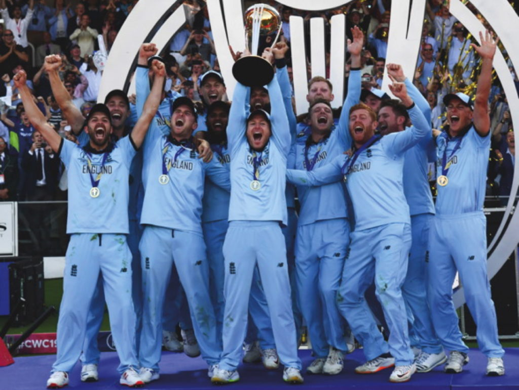 England win the World Cup this month