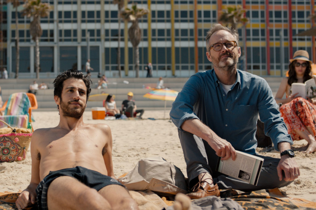 Niv Nissim as Tomer and John Benjamin Hickey as Michael in Sublet